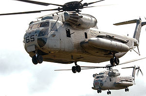 Marine Corps Aviation - Sikorsky CH 53D Sea Stallion