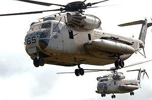 Marine Corps Aviation - Sikorsky CH 53D Sea Stallion